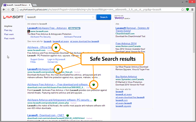 Search Safely - Lavasoft